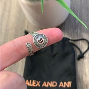 Alex and ani spoon ring #9
